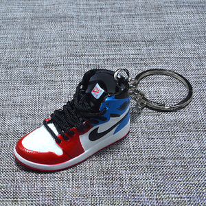 Mini High Quality Sport Nike Keyring Pendants Promotional Gifts 3D Sneaker Shoes Keychain