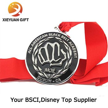 Custom Sport Medals with Ribbon for Games