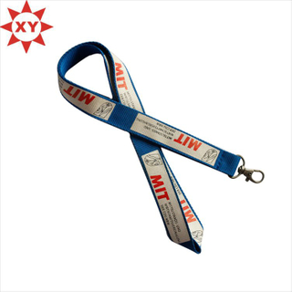 Patone Color Logo Printed Polyester Lanyard for Sale (XY-mxl8706)