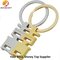 Design Metal Plating Couples Keyring Wholesale