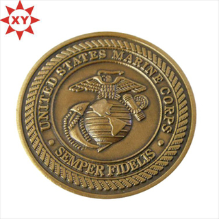 Custom Zinc Alloy Antique Bronze Challenge Coins for Sale