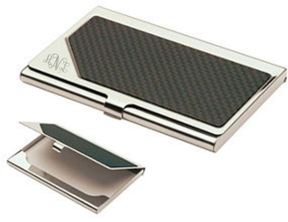 Custom Logo Steel Name Card Case Holder
