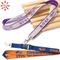 Cusom Clips Double Side Woven Lanyard with Printing Logo