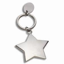 Promotion Gift Star Shaped Keychain