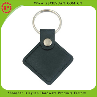 Promotional Items Prismatic Custom Leather Keychain