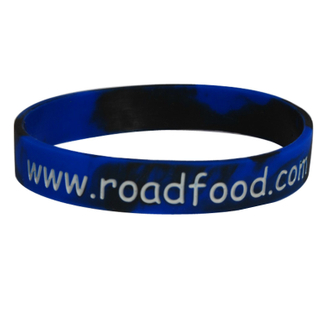 New Arrival with Printing Logo Cheap Silicone Wristbands