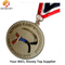 Custom Engraved Logo Filled Color Soccer Medals