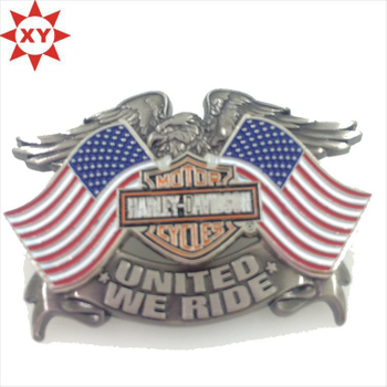 Custom Made Metal Lapel Pin with Eagle Logo