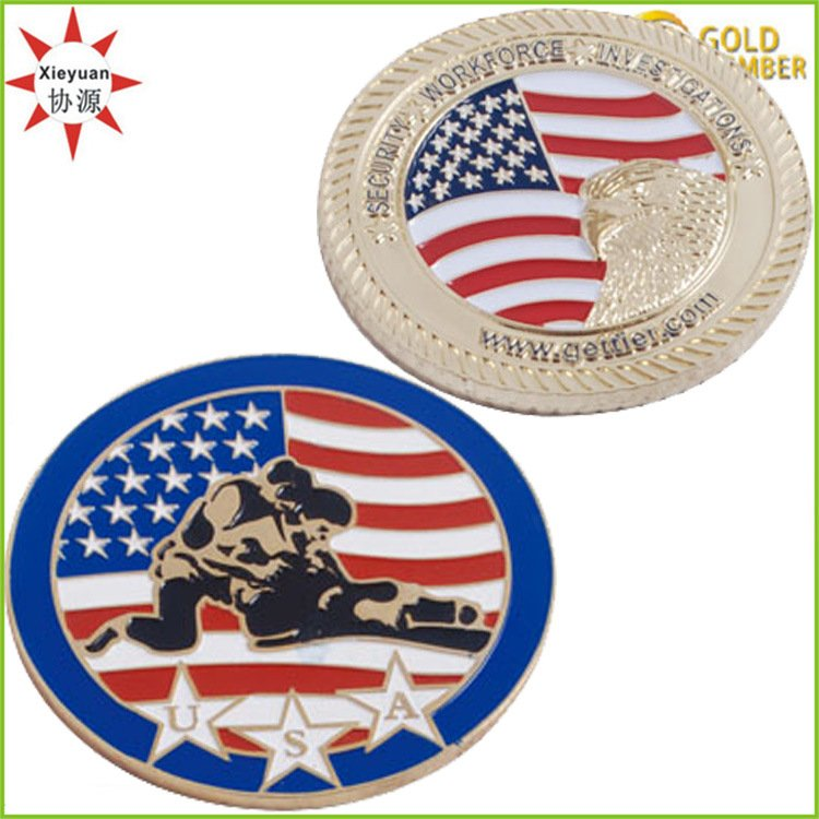High Quality Factory Direct Sell Religious Challenge Coins