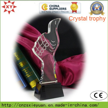 High Quality Crystal Trophy Medal for Commemorate
