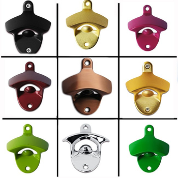 Colorful Blank Wall Bottle Opener for Beer