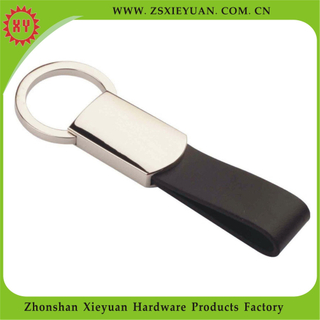 Wholesale Custom Genuine Leather Keychain