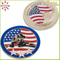 Top Quality Zinc Alloy USA Challenge Coin