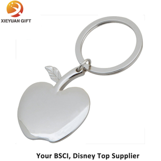 Gifts Apple Shape Silver Plated Key Chains