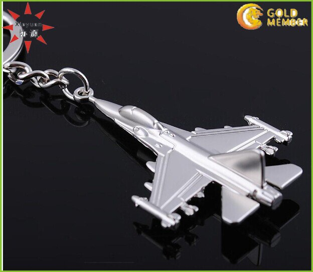 3D Metal Plane Keychain Factory