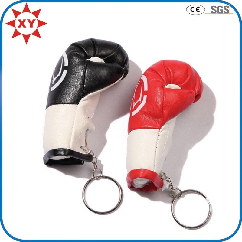 High Quality Leather Boxing Gloves Key Chain