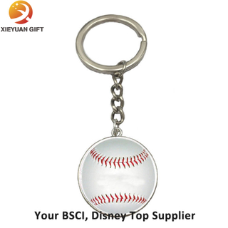 Wholesales Custom House Shape Metal Keychain