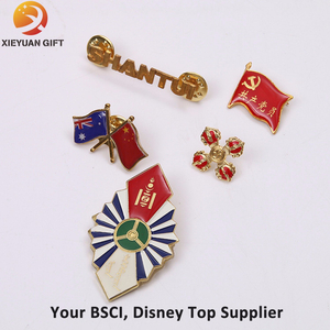 Custom Metal Badge with Logo Engaraved