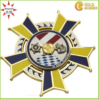 Custom Enamel Metal Army Medal Factory