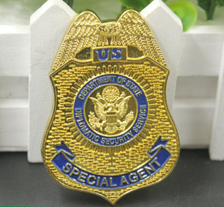 High Quality Eagle Metal Police Pin Badge