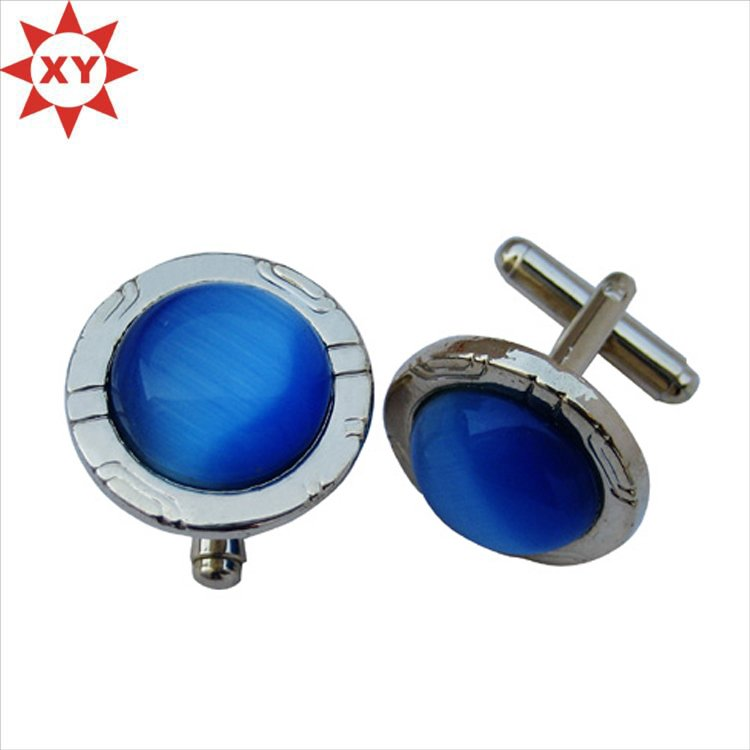 Custom Design 18mm Metal Copper Round Cufflinks