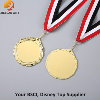 Custom Blank Medal with Plating Silver
