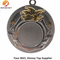 Promotion Gift Custom Round Shape Medal Plated Silver and Gold