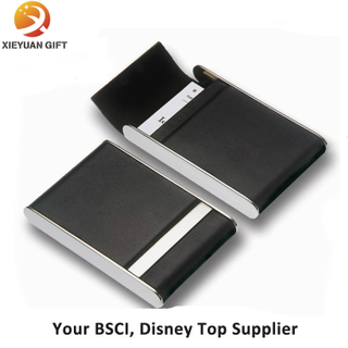Customized Leather Name Card Holder for Man
