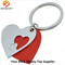 Wholesale Custom Red Color Keychain with Heart Shape