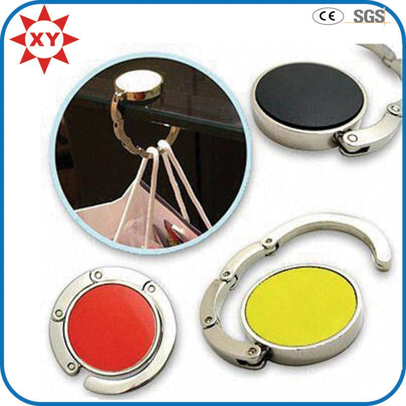 Promotion Gifts Various Styles Metal Enamel Purse Hook /Holder/Hangers