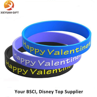 Custom Lover Silicone Wristband for Gifts