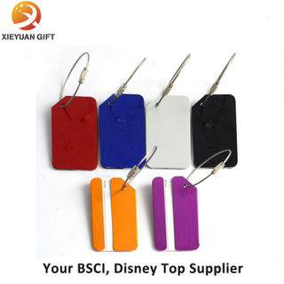 Rubber Material and Tag Type Custom Logo Bulk Luggage Tags