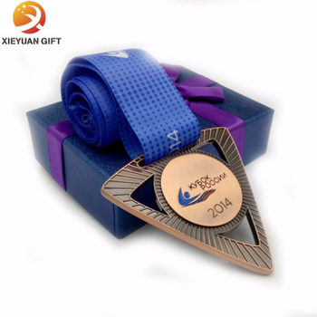 Custom Sport Gold Medal with Your Logo