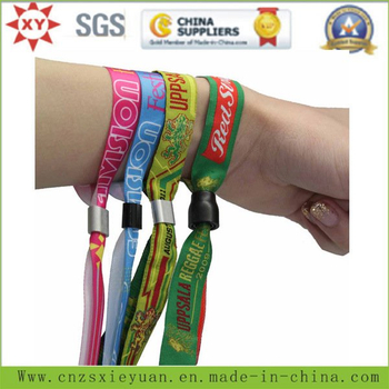 Cheap Sublimation RFID Wrist Bands Printing Custom Logo