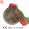 Custom Sport Gold Metal Medal with Free Ribbon