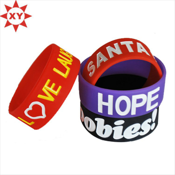 Deft Design Low Price Silicone Wristband for Gifts