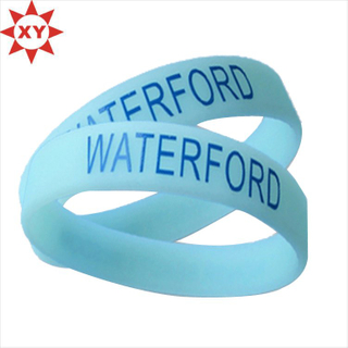 Promotion Item Glow Silicone Bracelet Made in China