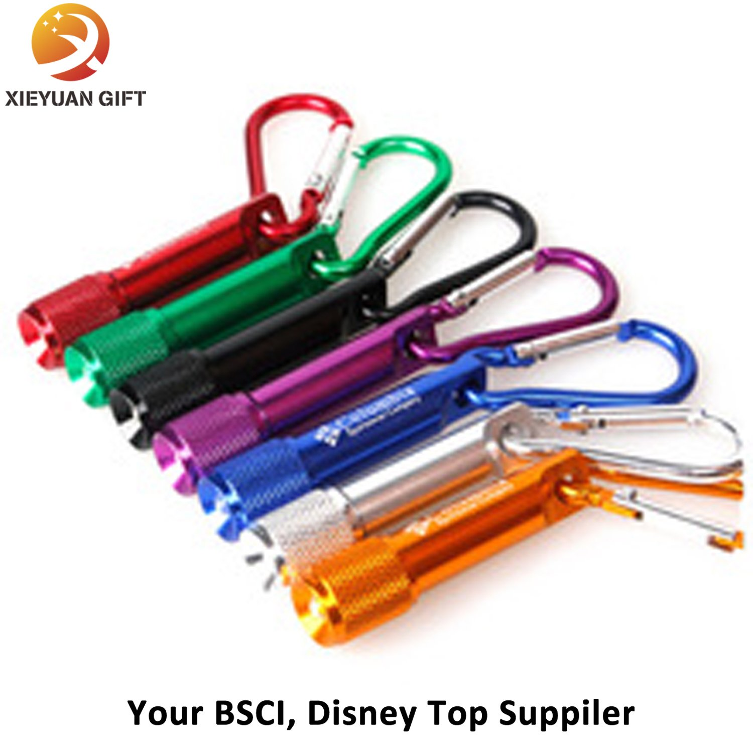 Hot Sale Colorful Souvenir Keychain Light LED Keychain Factory