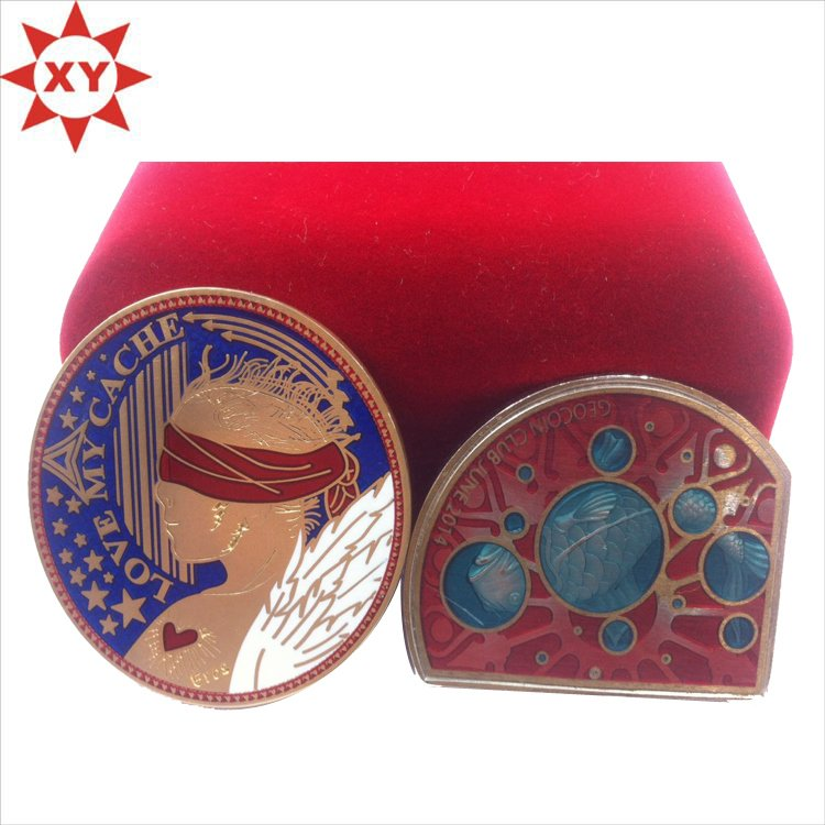 High Quality Customized Enamel Coin China Manufacturer