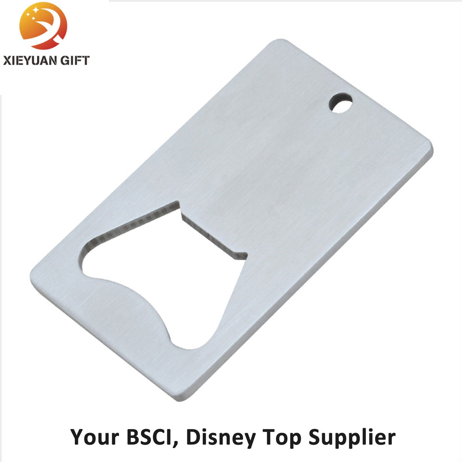 Plating Silver Metal Bottle Opener Blanks Fro Promotion