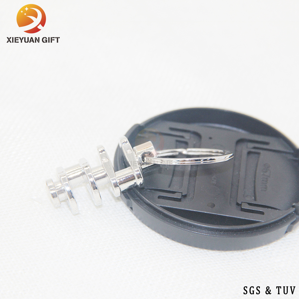 China Factory Custom leather key chain wire key chain,PU leather Metal keychain, metal ring