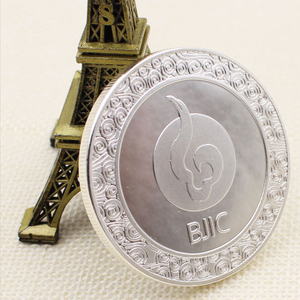 Design your own logo custom High quality cheapsilver The die casting COINS