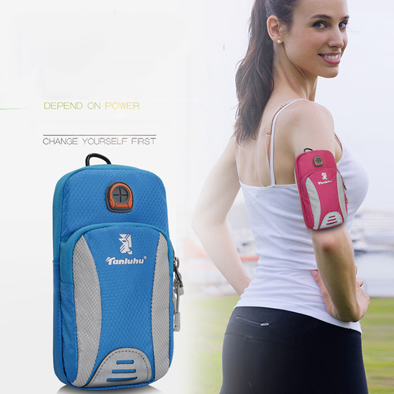 Outdoor running arm bag , Waterproof arm bag for smart phone/i6, Sport Armband Case Arm Bag