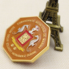 Factory Direct Design Your Own Logo Custom High Quality Cheap Ancient Copper Double Plating Challenge COINS