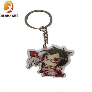 Youth Style Creative High-Imitation Fashion Cute PVC Key Chain